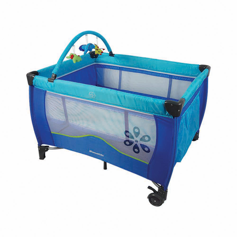 Lulu Camp Cot - Blue (Factory Seconds 4)