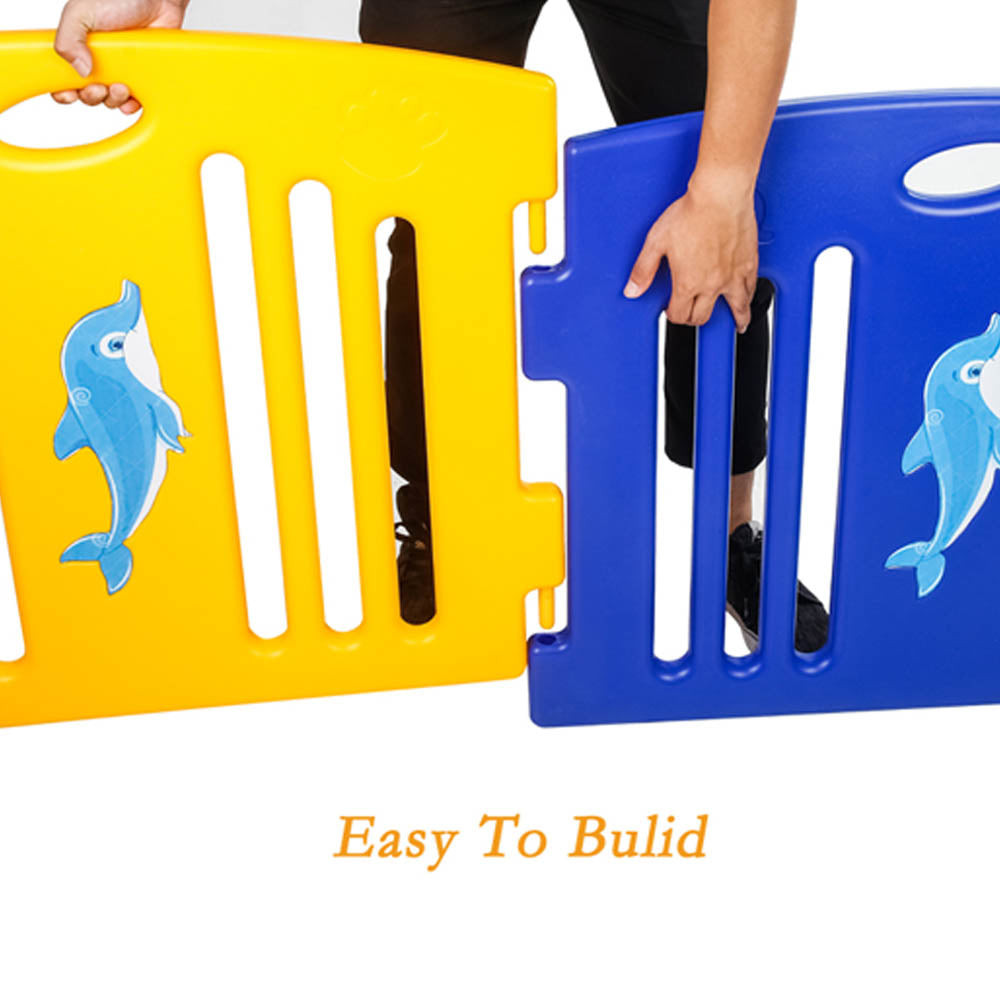 Extra Playpen Panel - Blue