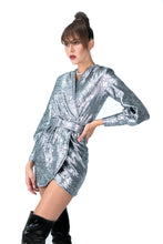 Metallic Brocade Dress