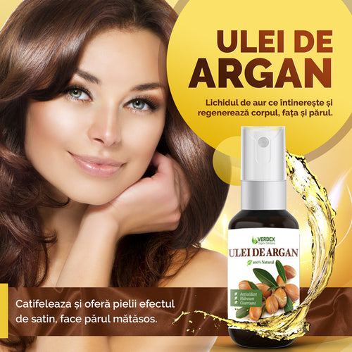 Ulei de argan, 100% Natural