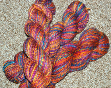 Hand spun Merino Top (100grams)