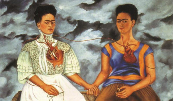 Frida Kahlo & her self-portraits