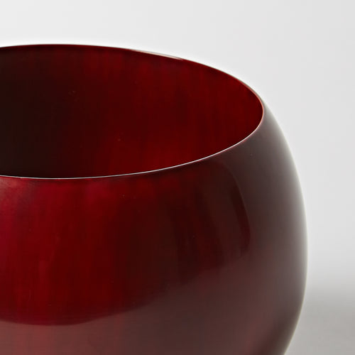 Bowl Dark Red, Large