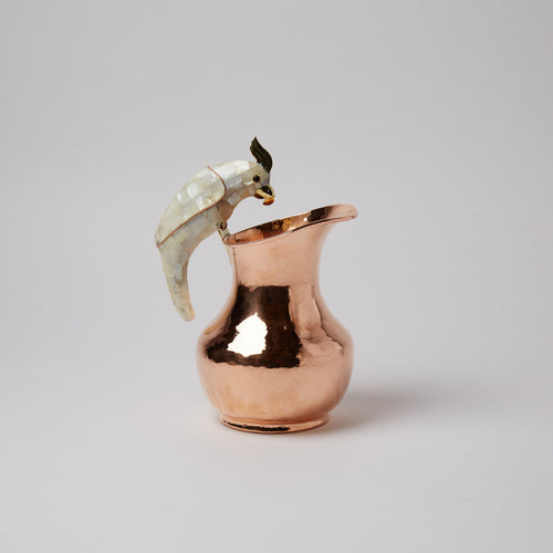 "Copper ""jarrita"" - water jug."