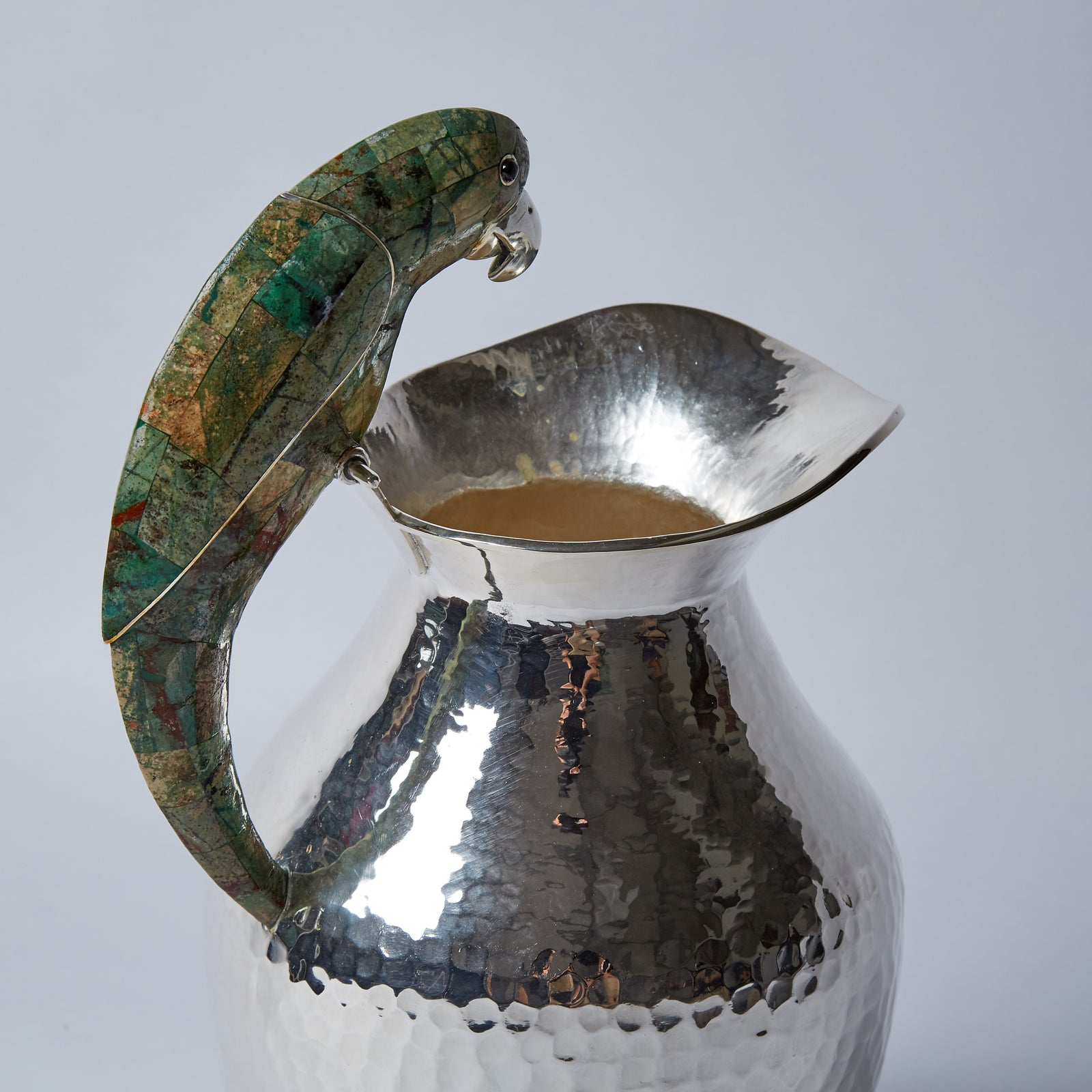 Jarra, Green Parrot, 3L, Hammered