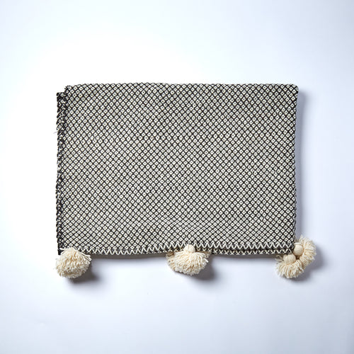 Hand made in the Atlas Mountains, this throw is a true winter warmer