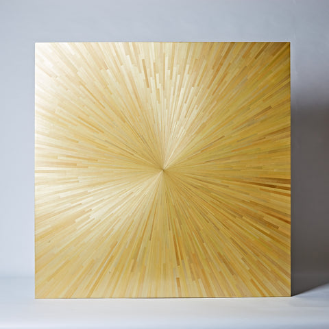 Sunburst Straw Panel, Small