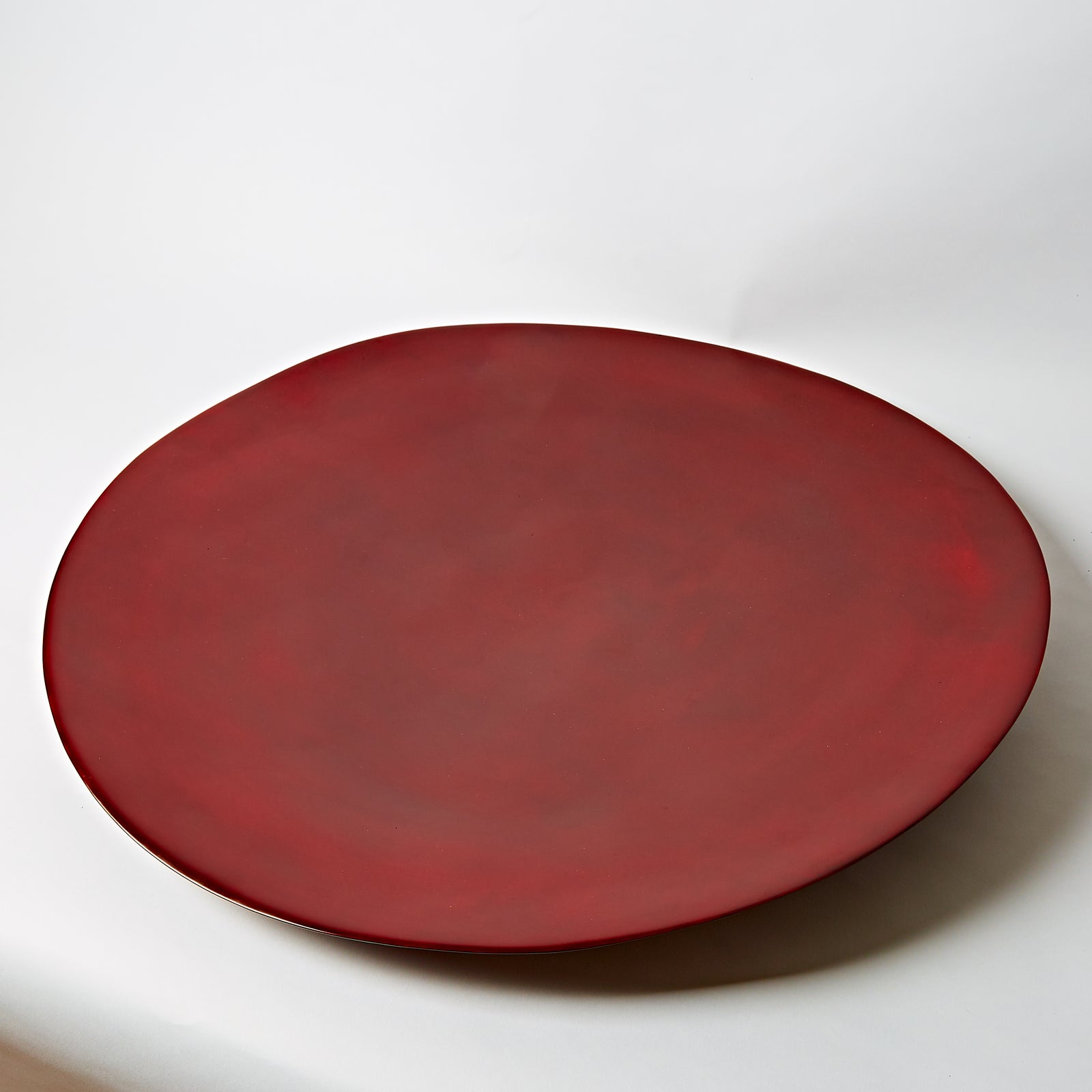 Red Plate, Large