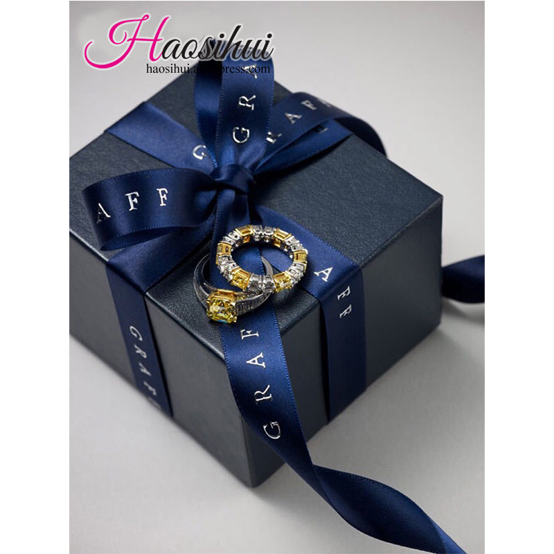 2 1264mm Wholesale Personalized Wedding Ribbon For Favors And