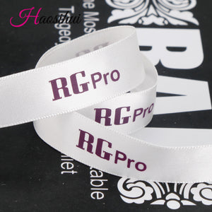 b63e6f35996 1-1/4''(32mm) Custom width 3.2cm ribbon polyester private logo ...
