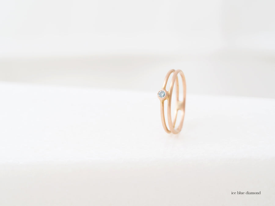 Double Lux ring