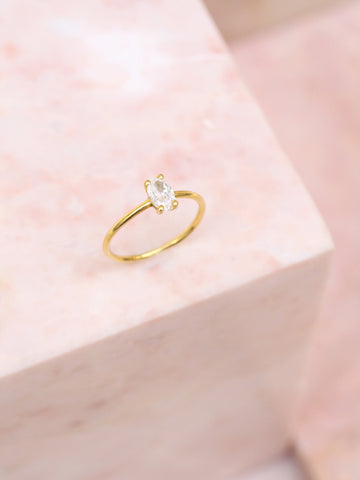 Oval Lux ring