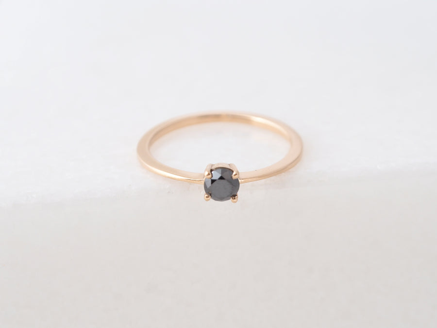 Solitair Slim Lux Large ring