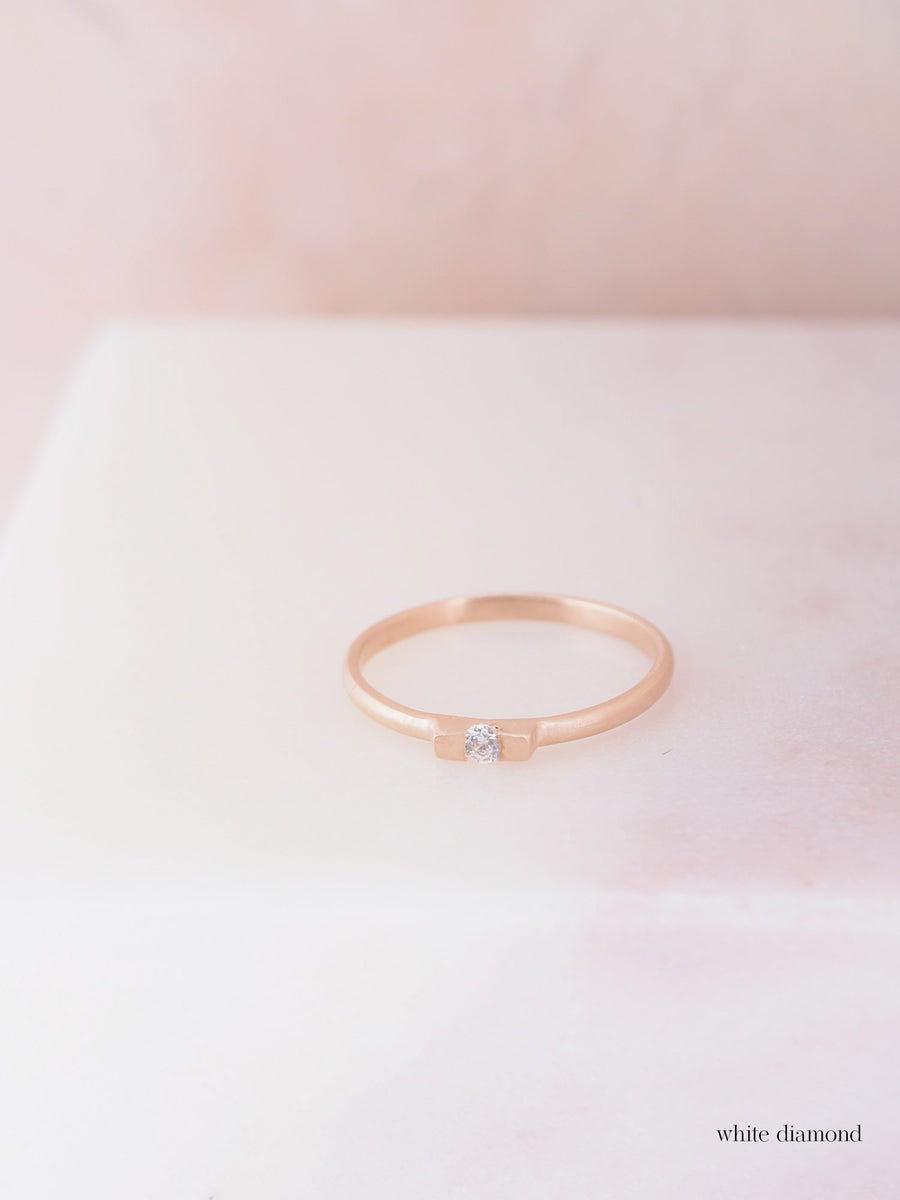 Tita Two Square Lux Small ring