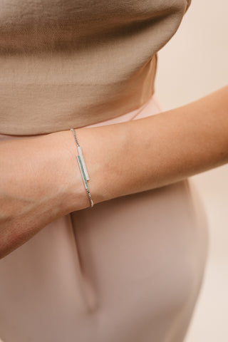 Yugen bracelet with Diamanté