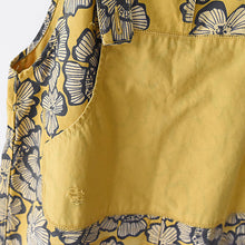 Load image into Gallery viewer, 2017 autumn yellow print jumpsuits cotton pants oversize casual fall outfits