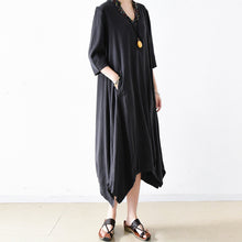 Load image into Gallery viewer, 2017 trend autumn casual dress oversize maxi dresses