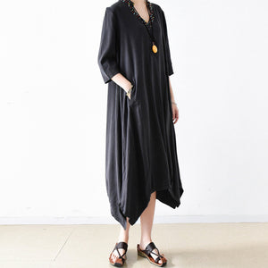 2017 trend autumn casual dress oversize maxi dresses