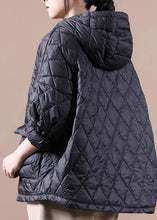 Load image into Gallery viewer, 2020 Loose fitting winter jacket hooded black pockets down coat-(Free Shipping+Limited Stock)