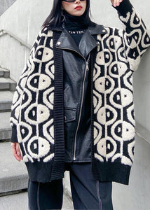 2020 new women's autumn winter leisure thickening knitted PU leather jacket