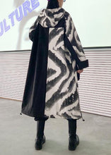 Load image into Gallery viewer, Bohemian  Plus Size tunic coat Wardrobes hooded zippered fall coats