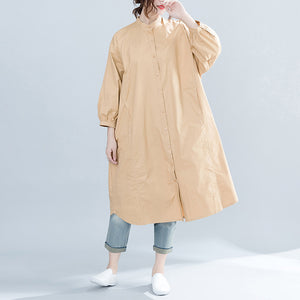 Brand Oversized Apparel Women Solid 2019 Spring New Top Female Tunic