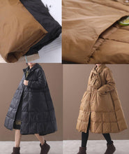 Load image into Gallery viewer, Elegant khaki winter parkas casual winter jacket hooded outwear thick