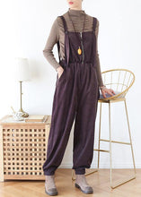Load image into Gallery viewer, Elegant spring pants oversize chocolate Work Outfits jumpsuit pants