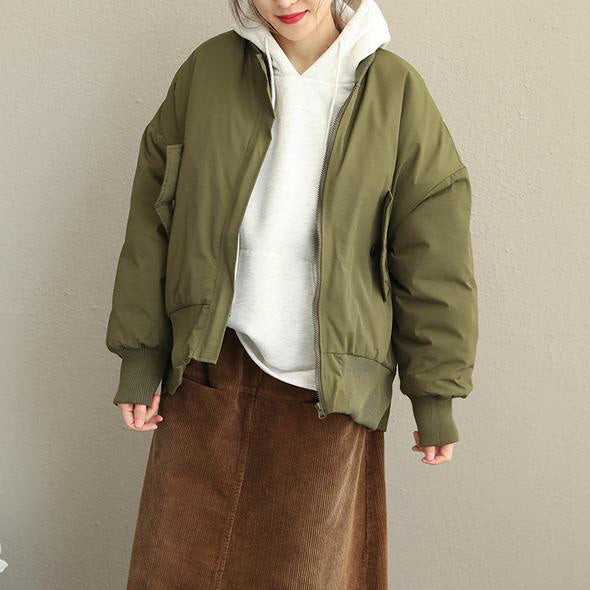 New Women Casual Thicken Short Coat Loose Winter Jacket Q1916