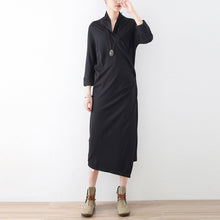 Load image into Gallery viewer, New side closure cotton cardigans long maxi coats causal clothing original