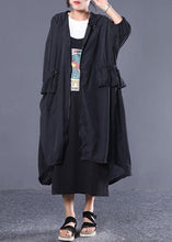 Load image into Gallery viewer, Style hooded drawstring top quality clothes For black women coats