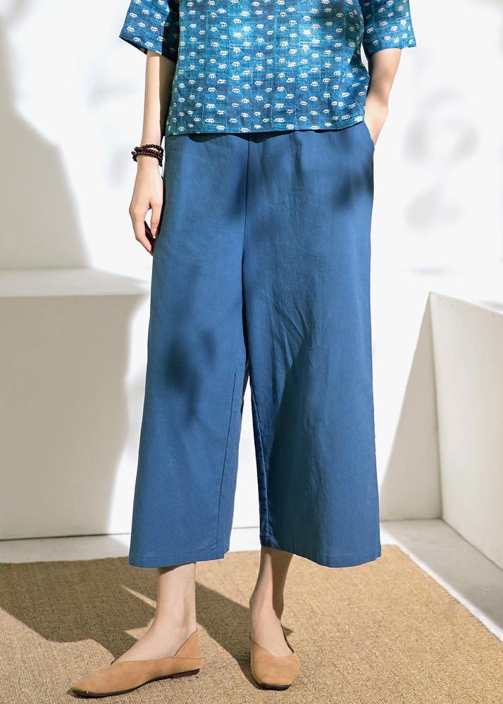 Summer new linen loose pants thin section women's cotton and linen wide leg pants