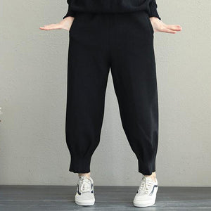 Winte New Korea Style Women Casual Pants Winter Harem Trousers