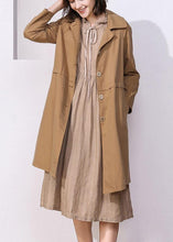Load image into Gallery viewer, Women khaki top quality trench coat Inspiration long sleeve spring jackets