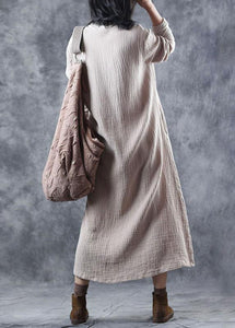 Women nude Sweater dress outfit Upcycle patchwork Mujer v neck knitted tops