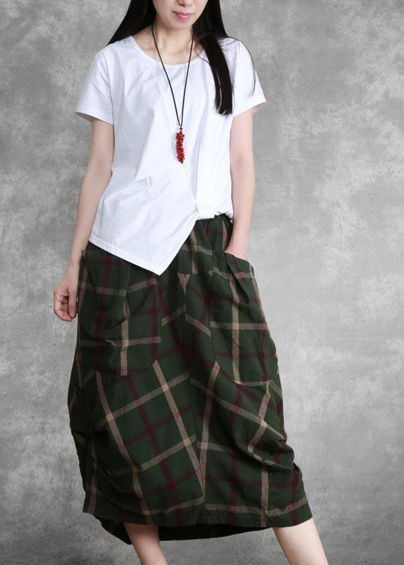 Women's dress English half skirt all match temperament irregular skirt