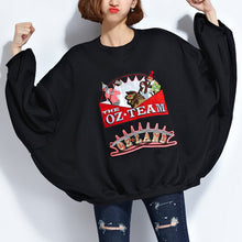 Load image into Gallery viewer, fashion black pure cotton tops plussize cotton clothing blouses Elegant appliques batwing sleeve midi tops