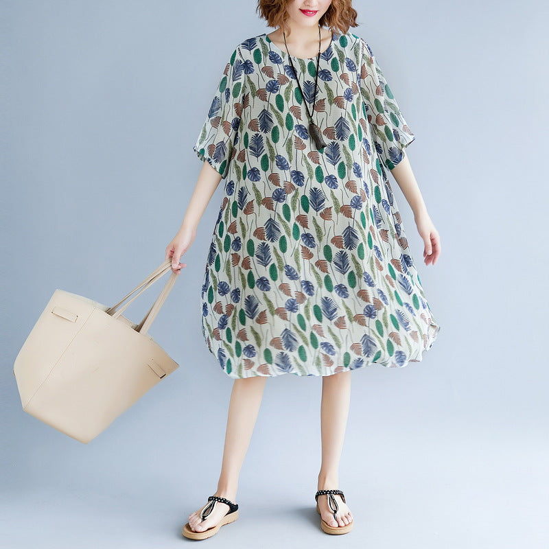 original designed print holiday dress o neck short sleeve bridesmaid dress baggy dresses maxi dresses