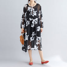 Load image into Gallery viewer, photo color chiffon dresses casual chiffon dress New two pieces floral dress