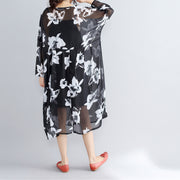 photo color chiffon dresses casual chiffon dress New two pieces floral dress