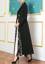 Load image into Gallery viewer, top quality Loose fitting long coat slim coat aymy green wild Woolen Coats