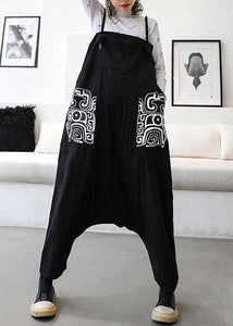 women 2019 new high waist carpenter pants casual loose harem pants