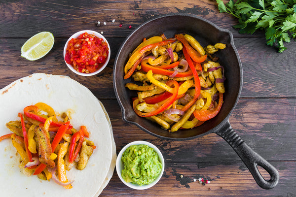 Chicken Fajitas & Salsa Recipe 🌮