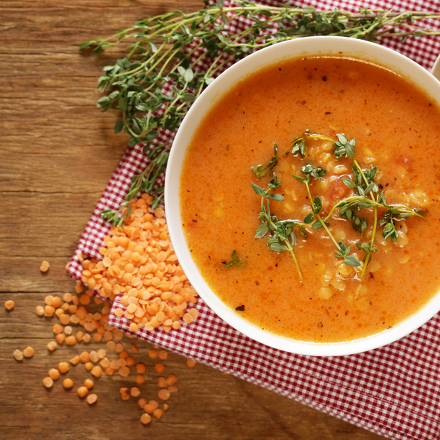 Spicy Lentil Soup