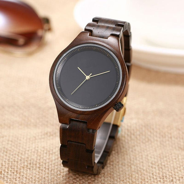 Mollisher Wood Watch