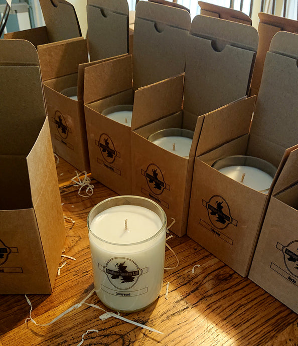 Half-Cut Cigar Smoking Candles