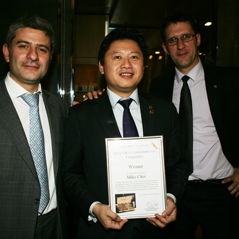 Mike Choi - UK Habananosommelier of the Year 2013 and Runner-Up in the 2014 Habanosommelier World Championship)