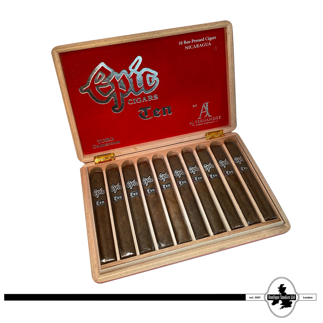 Epic Ten - Tenth Anniversary Limited Edition Cigar