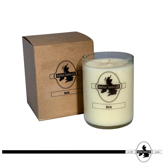 Mocha Smoking Candle by Half-Cut Candles