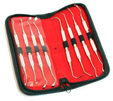 Bdeals Dental Instrument Sinus Lift Instruments Set 8PC Surgical Stainless Steel